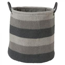 Καλάθι Απλύτων Knitted Grey 361972012 Sealskin
